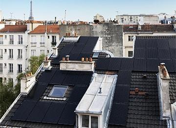 Immeuble collectif - Panneaux photovoltaïques en autoconsommation solaire