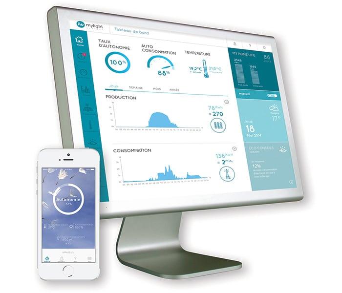 Logiciel MYL 2.0 monitoring autoconsommation solaire