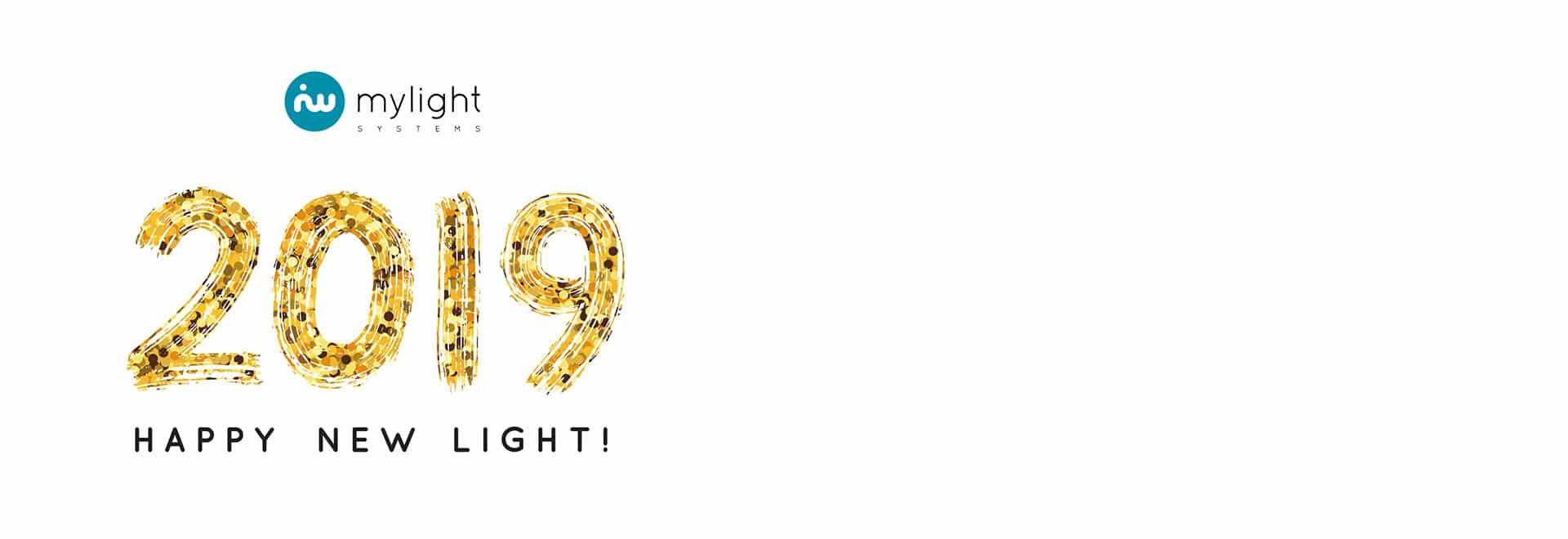 MyLight Systems vous adresse ses meilleurs voeux pour 2019