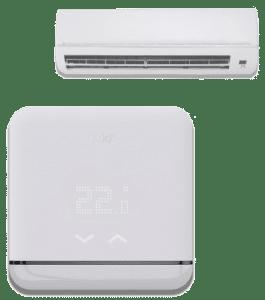 Thermostat connecté pour la gestion de la climatisation